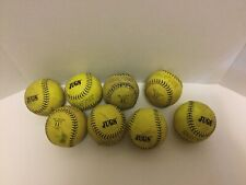 8 Soft Training 11 inch Softie Jugs Practice Softballs