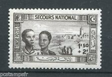 TUNISIE, 1944, timbre 246, SECOURS NATIONAL, neuf (*), VF STAMP
