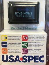 USA Spec BT45HON3 Add Bluetooth to 2004-13 Acura , 2003-14 Honda vehicles NEW