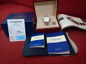 Ulysse Nardin quick set GMT & big date automatic model 223-88-7 - Mint condition