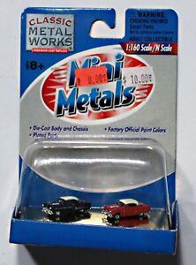 Classic Metal Works 50202 N Scale 1953 Ford Victoria Sedan Set of 2