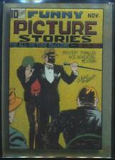 1995 Golden Age of Comics Trading Card #2 Funny Picture Stories #1