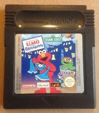 SESAME STREET: THE ADVENTURES OF ELMO IN GROUCHLAND Nintendo GBC Game Cartridge