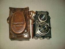 Voigtlander Superb Antique TLR Twin Lens Helomar & Skopar Box Camera in case