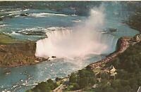 """*Canada Postcard-""""Niagara Falls River"""" /Over Candian Horsehoe Falls/ *Ontario"""