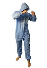 PVC Jumpsuit Schwitzanzug Strampler Overall Lackoptik Spielanzug Onesie fetisch
