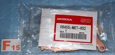 2 plaquettes de frein d'origine HONDA CBF 500 ABS de 2004/2007 06455-MET-652