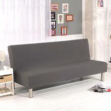 Sofá Cama Futón Slipcover sin brazo elástico sofá plegable Completo Protector de cubierta