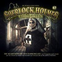 SHERLOCK HOLMES CHRONICLES - DIE SELBSTMÖRDER VON HARROWGATE FOLGE 67  CD NEU