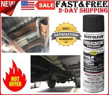 Automotive Car Rubberized Undercoating Spray Black Paint Truck Rust-Oleum 15oz
