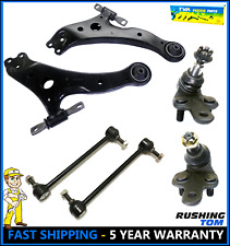 New 6 pc Complete Front Suspension Kit for Toyota Camry and Lexus ES RX Avalon