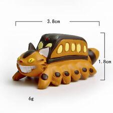 Studio Ghibli My Neighbor Totoro Cat Bus Mini Resin Figure Statue Figurine 4cm