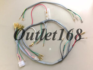 Honda SL100 SL125 Wiring Harness Cable Loom Cabling Set with Taillight Sub Wire