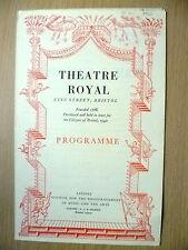 Theatre Royal, Bristol Programme 1942- MAN & SUPERMAN by Bernard Shaw