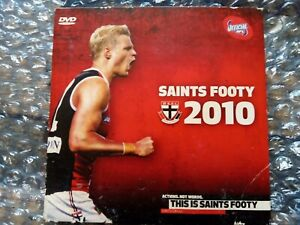 St. Kilda Saints AFL Season Highlights Double Grand Finals DVD 2010 Members Only