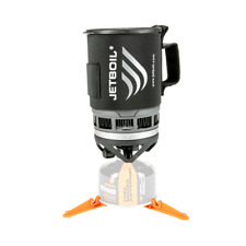 Jetboil Zip Personal Cooking System Regulated Camping Stove - Carbon Black