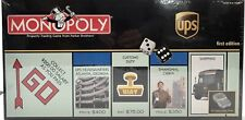 UPS Monopoly Board Game First Edition 2005 NEW Sealed United Parcel Service