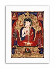 Buddha Vairocana Resplendent One Poster Canvas Art Prints
