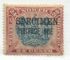 North Borneo 1895 24 cents overprinted Postage Due SPECIMEN  SG D11s Cat. 40.-