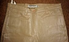 Chevignon Girl Sheep Skin Designer Leather Pants/Trousers - W29/L31