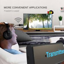 WIRELESS BLUETOOTH TRANSMITTER STEREO TV PHONE MP3 AUDIO MUSIC ADAPTER KAWAII
