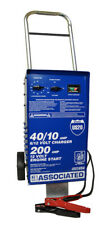 Wheel Charger Analyzer 6/12V 40/40/10 Amps with 200A Boost New Free Shipping USA