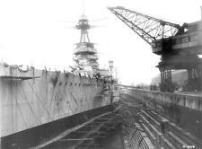 Photo.  WW1. English Ship Battlecruiser HMS Tiger