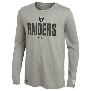 New Era NFL Football Men's Las Vegas Raiders Grids Dri-Tek Long Sleeve Tee