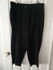 City Chic Black Formal Capri 3/4 Length Pant Size XS