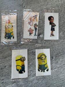 Minions Tattoos Set Of 5
