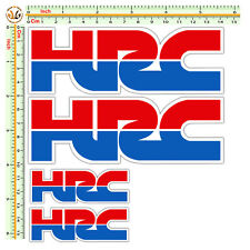 HRC honda replica adesivi moto casco tuning  sticker decal helmet  pvc kit 4 Pz.