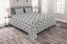 Resumen Cubrecama Mosaico de azulejos en forma de estrella