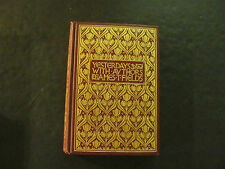 Yesterdays With Authors by James T. Fields (HC, 1900,)