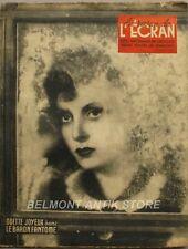 La revue de l'écran n°6..  B 1943 - Odette Joyeux - dans le baron fantome-