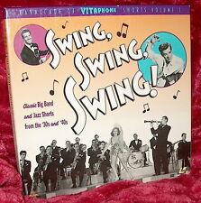 LD Laserdisc CAVALCADE OF VITAPHONE SHORTS Volume I Swing,Swing,Swing 1 BIG BAND