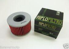 HIFLO FILTRO OLIO HF111 PER HONDA MOTORCYCLE CB400 T HAWK 1978 1979 1980 1981