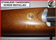 Ruger 1022 customized STAINLESS stock screw KIT +extras
