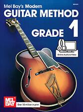 Mel Bays Modern Guitar Method Grade 1 Learn to Play Song Sheet Music Book