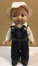 Buddy Lee / Lee button Denim overalls  Doll - #1