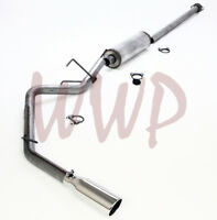 Stainless Steel Cat Back Exhaust Muffler System Kit For 05-15 Toyota Tacoma 4.0L