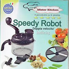 indici15 by Speedy Robot Trita Taglia Impasta Frulla Doppia Velocità bernigroup