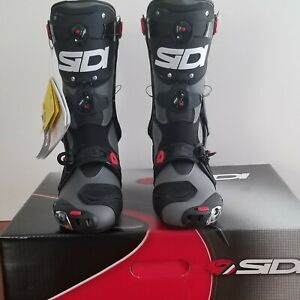 Sidi Rex Boots Grey/Black BRAND NEW With Box All Packaging US11 EU45