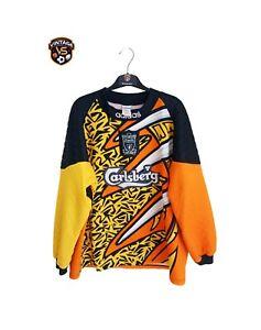 Vintage Original Liverpool Football Goalkeeper Shirt 1995-1997 XL) Adidas Jersey