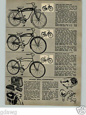 1956 PAPER AD Rollfast Super Deluxe Bicycle Tank Light Groucho Marx Quiz Game
