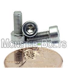 M3 x 8mm - Qty 10 - DIN 912 Socket Head Cap Screws - Stainless Steel A2 / 18-8