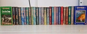 Collection Vintage Margaret Weis DragonLance Fantasy Fiction Paperbacks KWH419