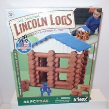 Kinex LINCOLN LOGS Prairie Store Oak Creek Lodge Building Block Play Toy Set NEW