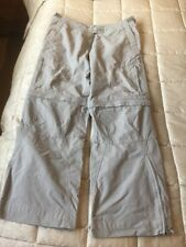 Rohan Ladies  Expedition Double Convertable Cargo Trousers Size 12
