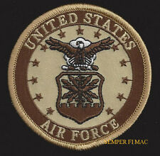 US AIR FORCE WING II HAT PATCH LOGO SEAL DESERT PIN UP JACKET UNIFORM FLIGHTSUIT