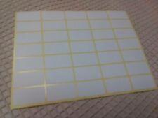 300 Selbstklebe Etiketten,Etiketten 60Stück,weiß,ca 2,5 x 5 cm,SB-Blister